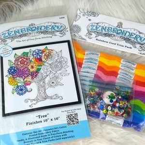 Zenbroidery Tree And Trim Pack DIY